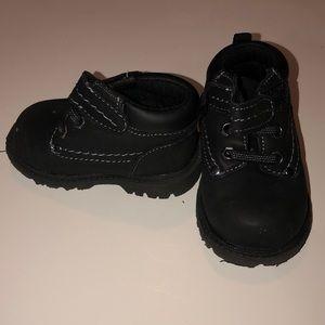 Boys Brahma black boots